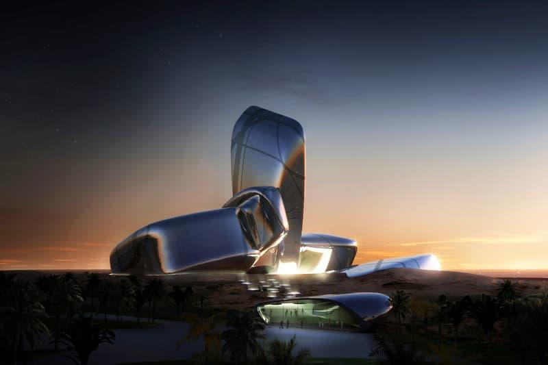Snøhetta norway snohetta architecture architectural saudi arabia travel King Abdulaziz Center for World Culture Saudi Aramco Oil Company Dhahran landscape interior design museum education