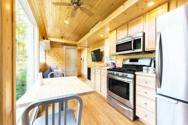 Canoe Bay Escape Village Unveils Tiny Homes hotels traveler trailer RV small houses tiny hotels Wisconsin nature getaway