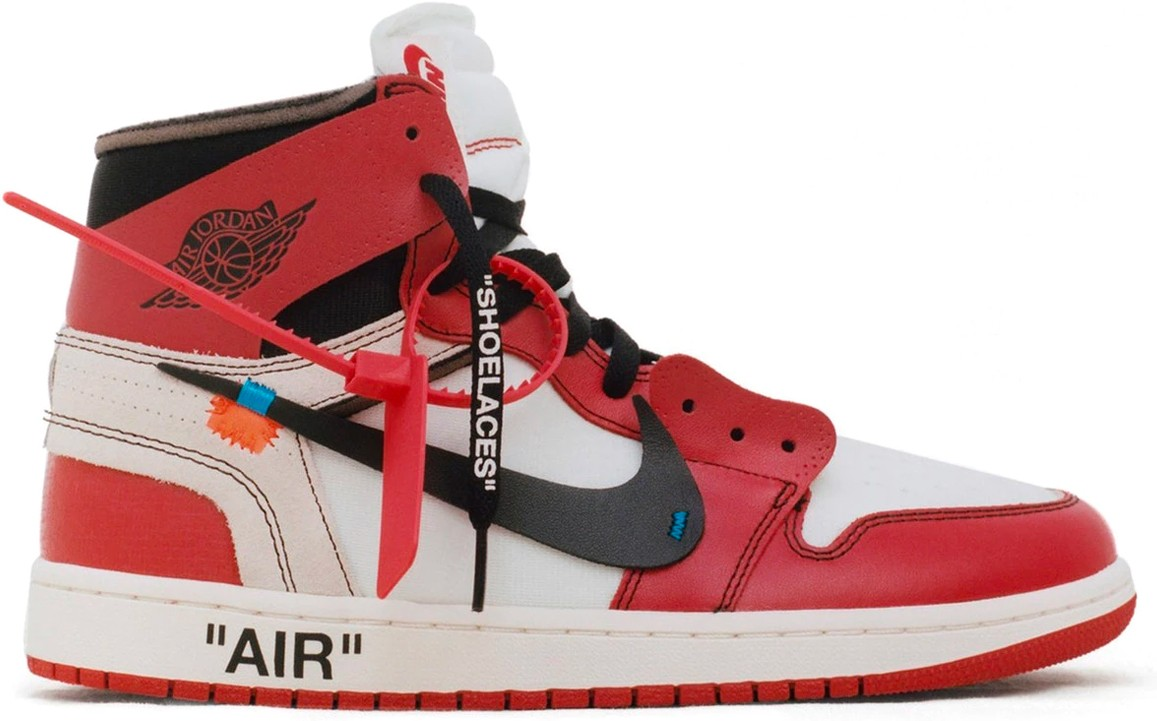 "604002be4e70 Virgil Abloh x Air Jordan 1 ""THE TEN"""
