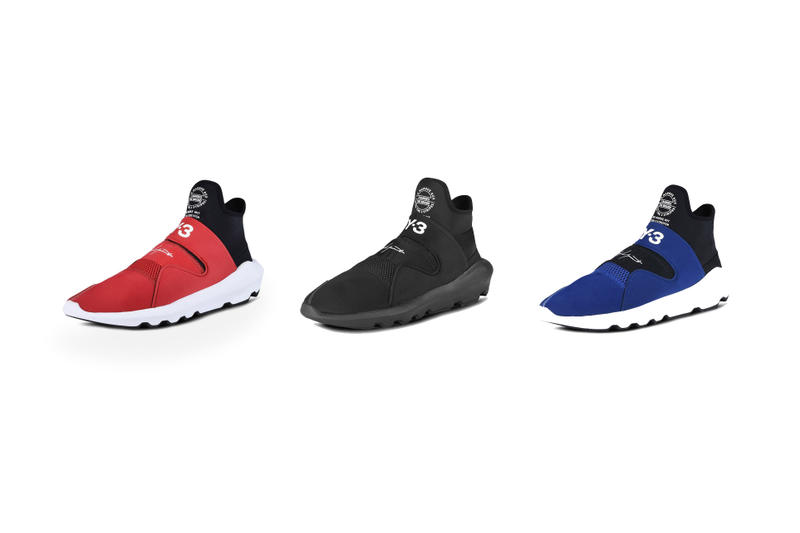 adidas Y-3 Suberou Releases in Red and Blue sneakers shoes streetwear street holiday gift guide