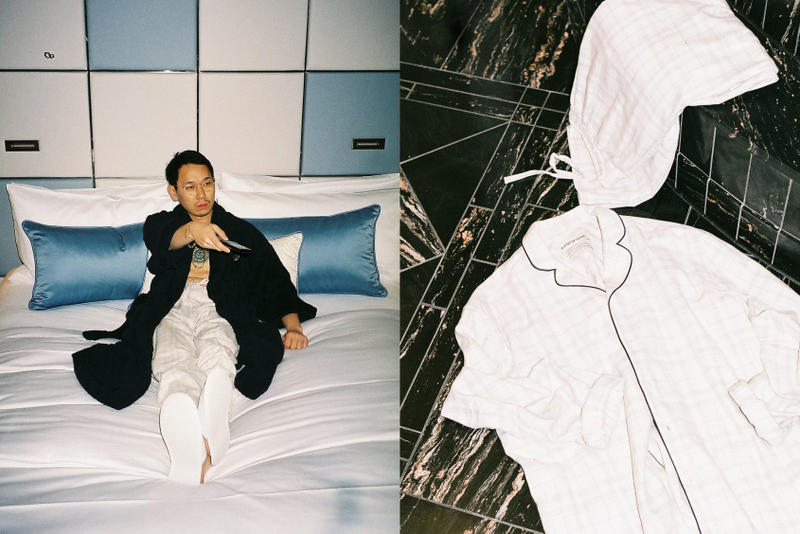 A Kind of Guise Winter 2017 2018 Limited Edition Capsule Collection Hotel Bathrobe embroidered pajama set comfortable relaxed Munich germany