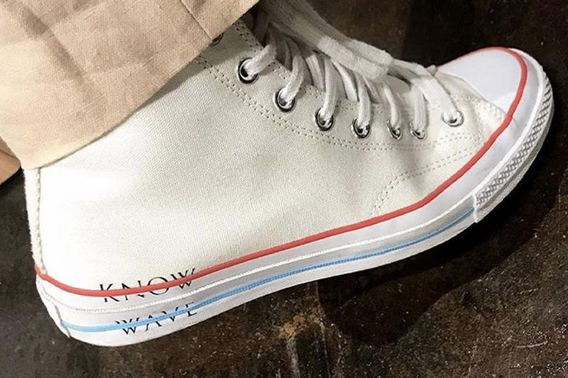 Know Wave Converse Chuck Taylor Aaron Bondaroff All Star High Top First look