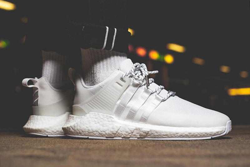 huge discount 58704 e9510 GORE TEX adidas Originals EQT BOOST 93 17 Triple White