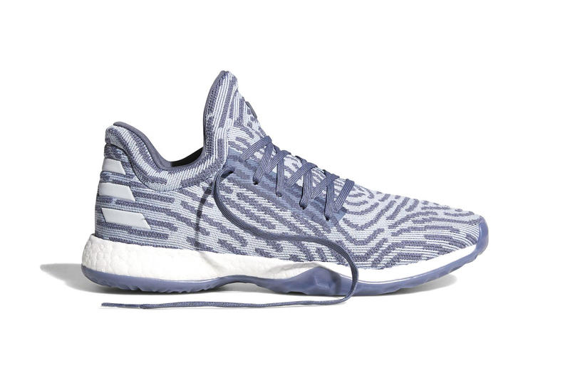 new arrival bd447 e8809 adidas Harden Vol 1 LS Pale Blue 2017 December 15 Release Date Info Sneakers  Shoes Footwear