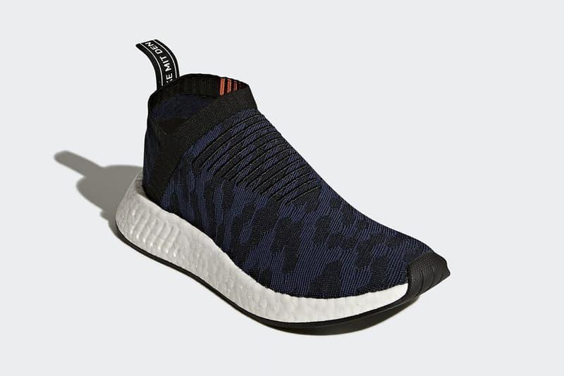 adidas NMD CS2 Primeknit Navy Black Colorway Streetwear Footwear Release Date Info Drops December 21 2017