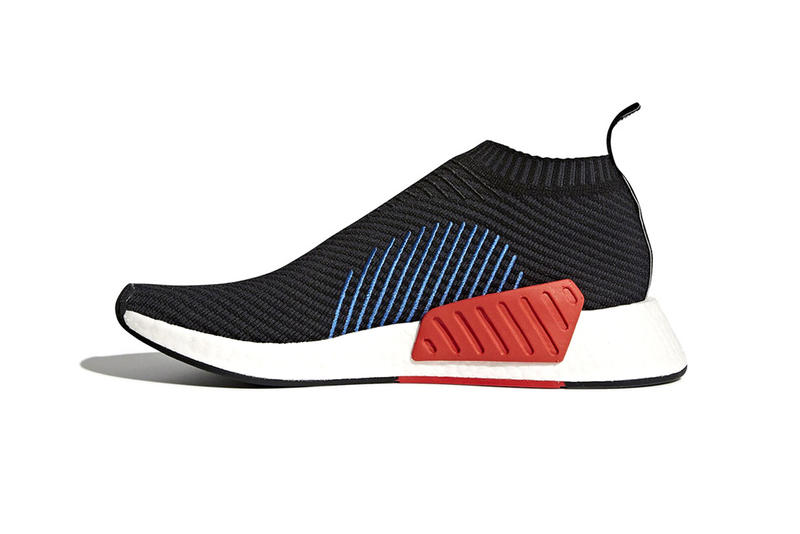 adidas NMD CS2 Core Black Blue Red City Sock 2 2017 December 21 Release Date Info Sneakers Shoes Footwear