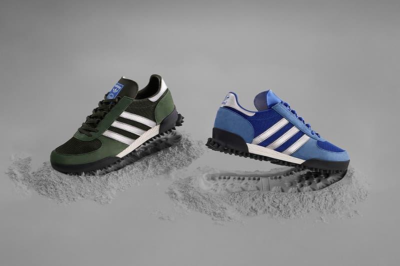 7c5f03b9f920 adidas Marathon TR Ephocal Pack Green Colorway Blue Colorway