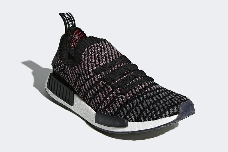 "adidas Originals NMD_R1 Primeknit STLT ""Core Black"" Release date"