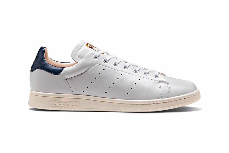 adidas Originals Stan Smith Royal Pack white black leather Recon