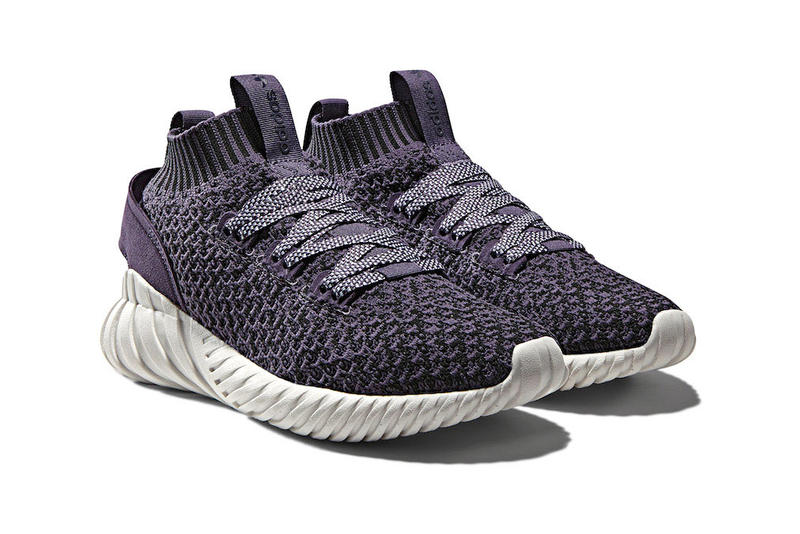 adidas Tubular Doom Soc Trace Purple Core White December 18 2017 Release Date