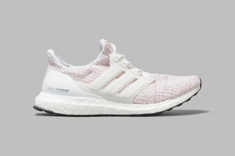adidas UltraBOOST 4 0 White Scarlet Ultra BOOST 2017 December 1 Release Date Info Sneakers Shoes Footwear Oi Polloi