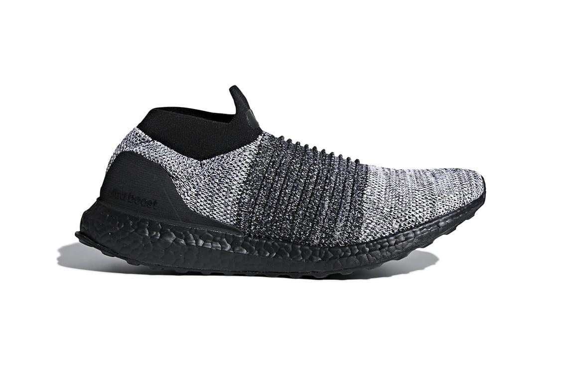 adidas ultraboost laceless black