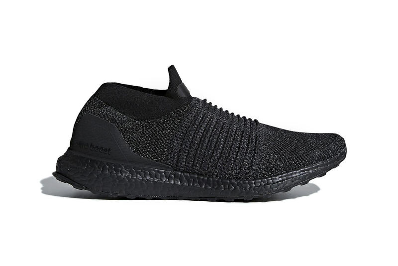 "adidas UltraBOOST Laceless ""Triple Black"" 2018 January Release Date Drop Info Sneaker Shoe"
