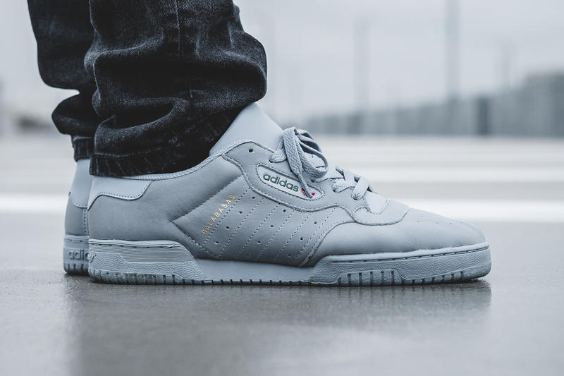 1665e4436c51b adidas YEEZY POWERPHASE Grey Official Store List