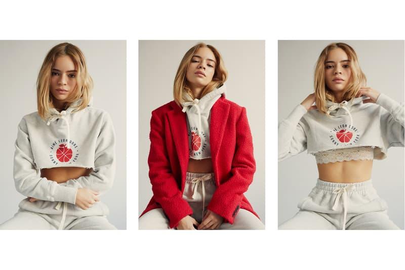 Aime Leon Dore Winter 2017 Editorial Andrew Jacobs Juliana Salazar Coco Baudelle ALD Hoodies Outerwear