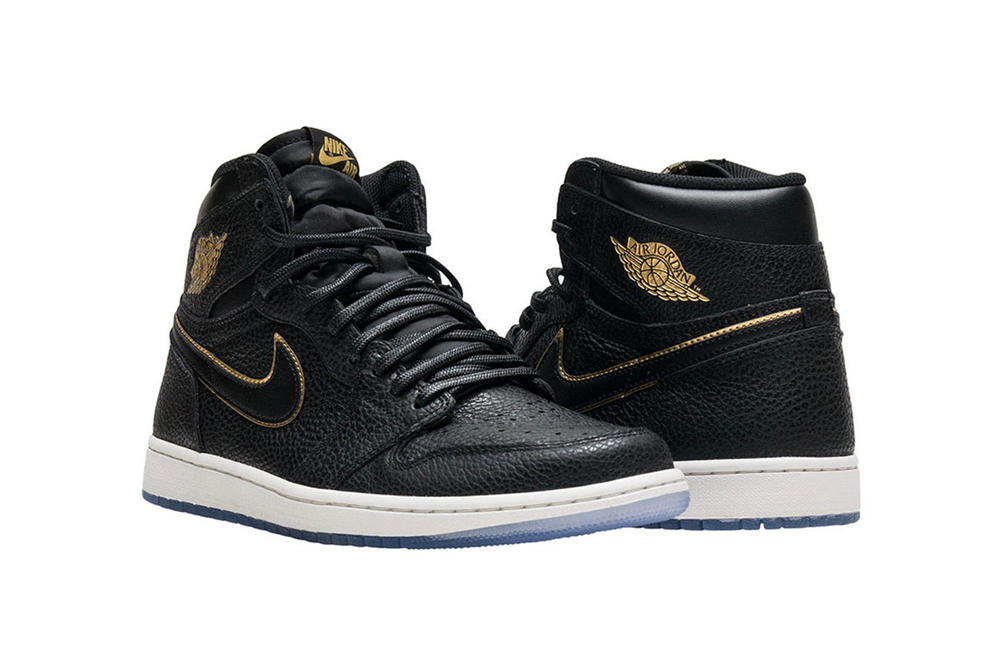 Air Jordan 1 Retro High OG 2018 All Star Game NBA Black Gold January 10 Release Date Info Sneakers Shoes Footwear
