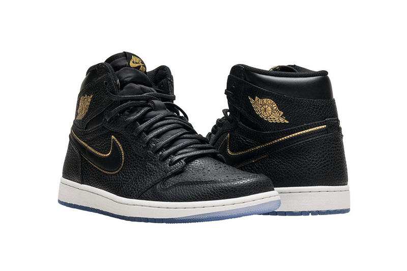 Air Jordan 1 Retro High OG 2018 All Star Game NBA Black Gold January 10  Release db6e35c9d