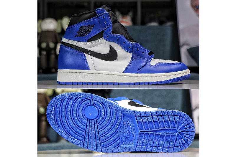 Air Jordan 1 Retro High OG Game Royal 2018 release date