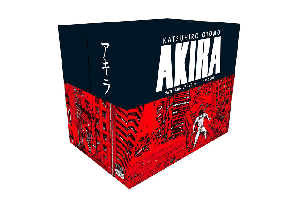 Akira 35th Anniversary Box Set Katsuhiro Otomo Ryohei Suzuki Shunzo Kato
