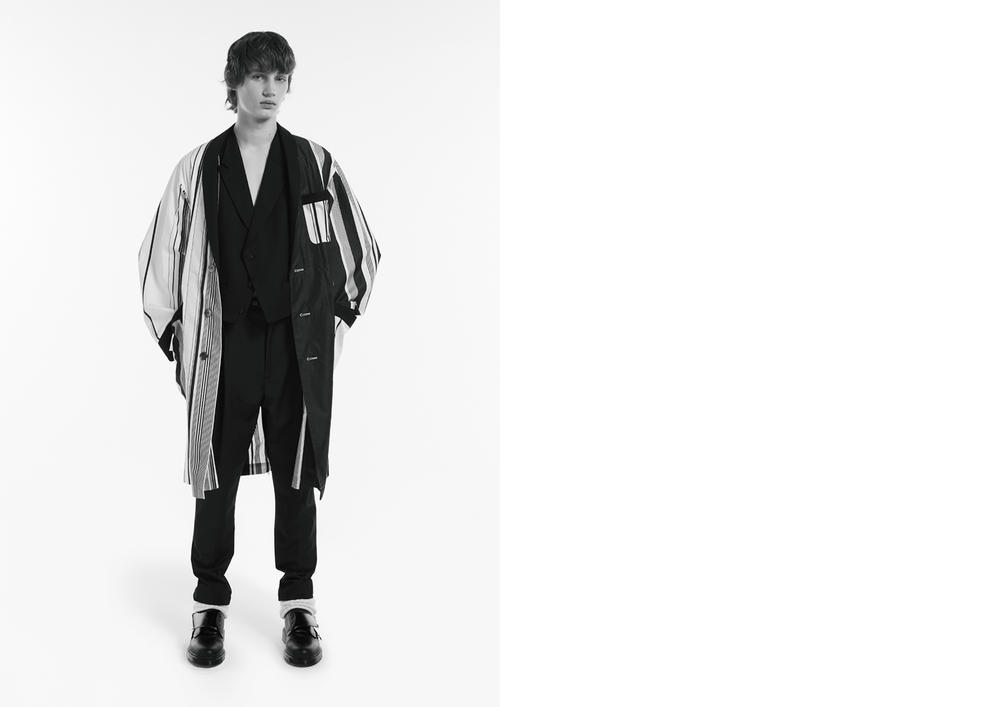 ALMOSTBLACK 2018 Spring Summer Collection Tokyo Japan PLASTIC Lookbooks