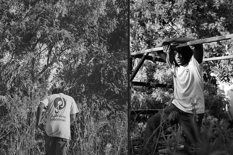 Roc-A-Fella records amongst few reasonable doubt kareem biggs burke jay-z lookbook collection clothing streetwear fashion hoodie t-shirt shirt hat dubai