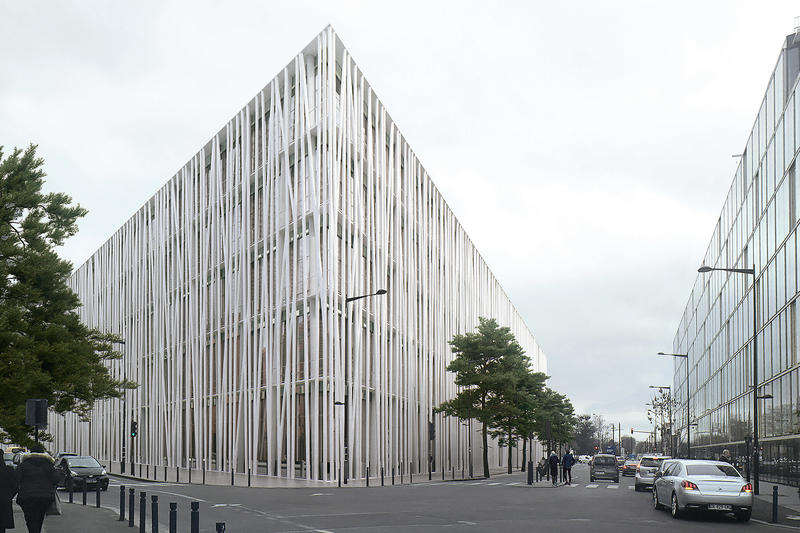 Chanel Metiers d'art New Location Site Rudy Ricciotti Architect 2020 completion