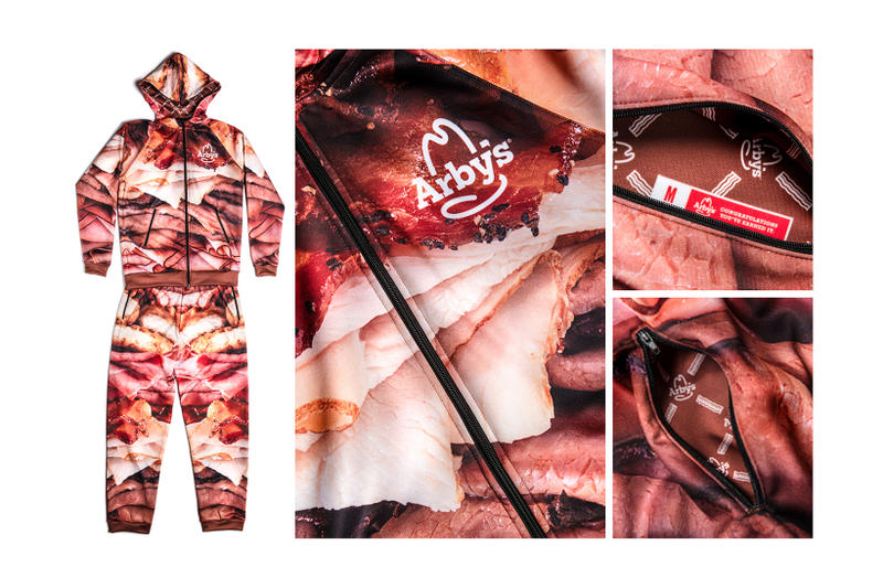 Arbys Meat Sweats Holiday Giveaway Sweatpants Sweatshirts Meat Lovers Clothes Outerwear