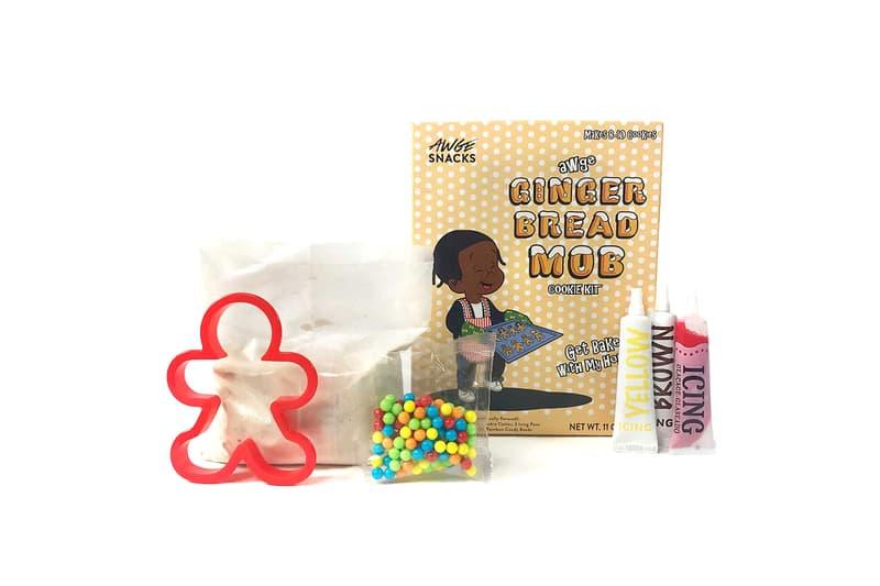 A$AP Rocky Gingerbread Cookie Kit December 2017 AWGE A$AP MOB