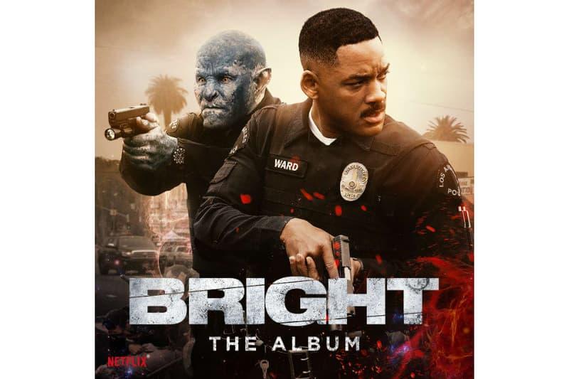 Lil Uzi Vert A$AP Rocky Migos Future Bright Soundtrack Netflix DRAM Meek Mill Bastille Rag 'N' Bone Man Logic Ty Dolla $ign YG Snoop Dogg