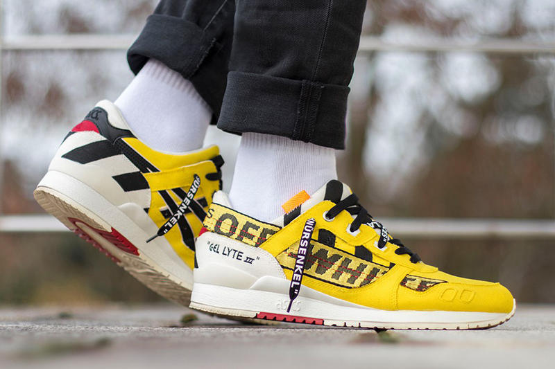 on sale 0bdda 37d49 ASICS Gel-Lyte III Custom Inspired by Off-White™ | HYPEBEAST