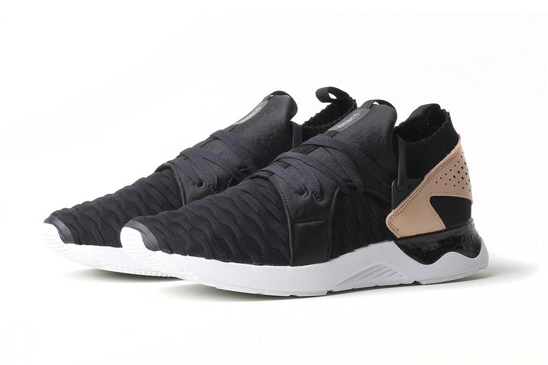 ASICS GEL Lyte V Knit black vachetta tan footwear