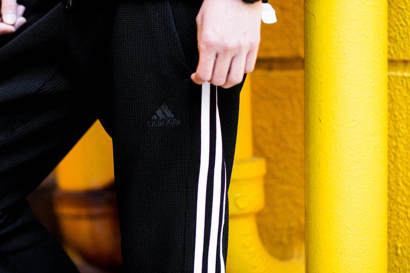 Adidas originals atmos Collaboration Release Info 2017 climalite technology cold weather hoodie jacket jogger pants tokyo japan knit knitted
