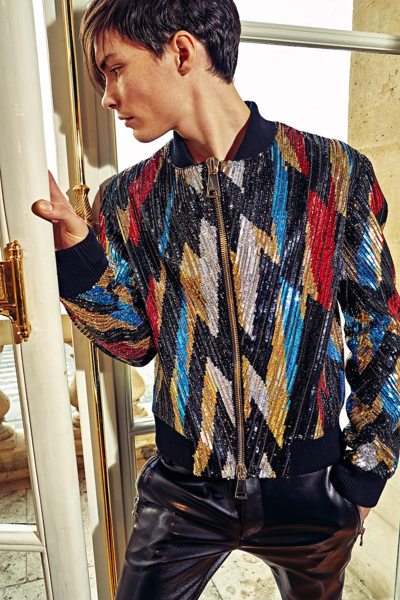 Balmain 2018 Pre Fall Collection Lookbook Outerwear Jackets Sweaters Shirts Suiting