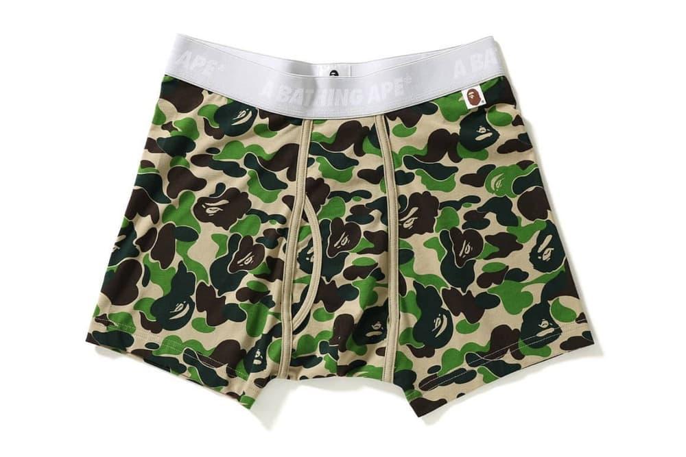 BAPE A Bathing Ape ABC Camo Boxer Briefs Trunks Underwear