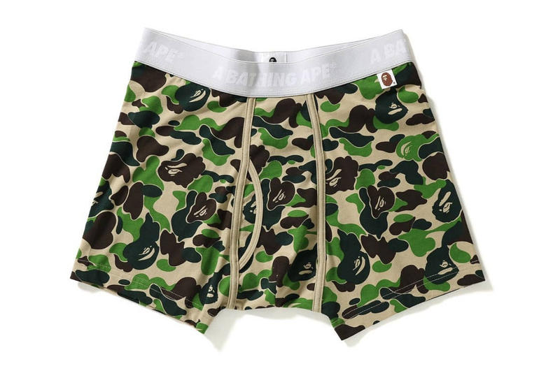 BAPE A Bathing Ape ABC Camo Boxer Briefs Trunks Underwear