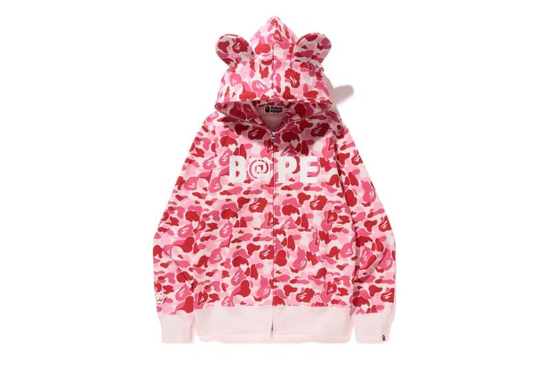 BAPE A Bathing Ape Baby Milo Bearbrick Camo hoodies Medicom Toy