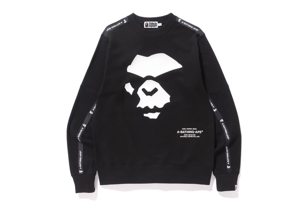 BAPE A Bathing Ape High Tech Army Collection Shark Face Jacket Hoodie Crewneck Pants hat