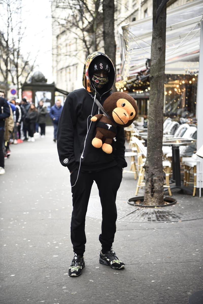 bape a bathing ape pairs store streetsnaps shark hoodie