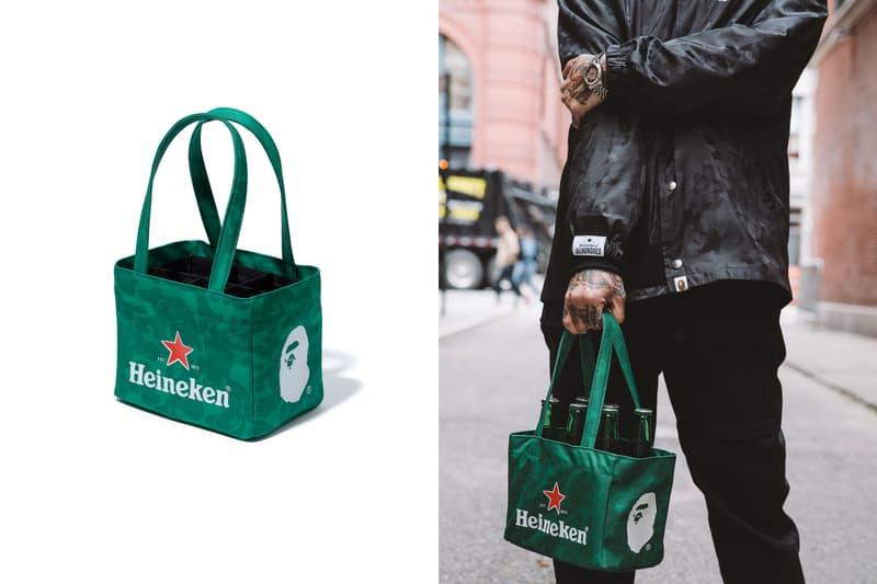 BAPE Heineken100 Collection Collaboration 2017 December 12 Release Date Info A Bathing Ape