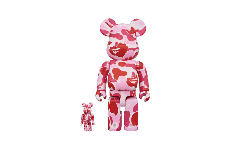BAPE Medicom Toy Bearbrick A Bathing Ape Design Collectible Figure