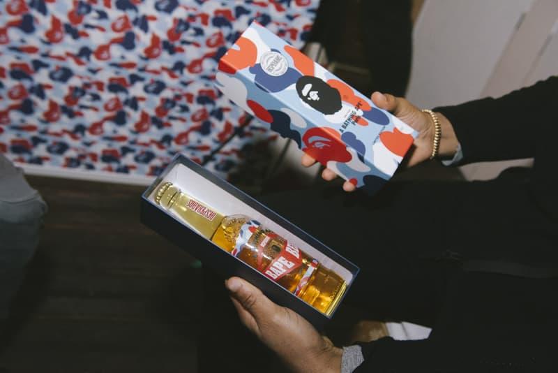 BAPE Store Paris Opening Recap 2017 December Party Kekra Hamza Baby Milo Tricolor Camo APE Head Champagne