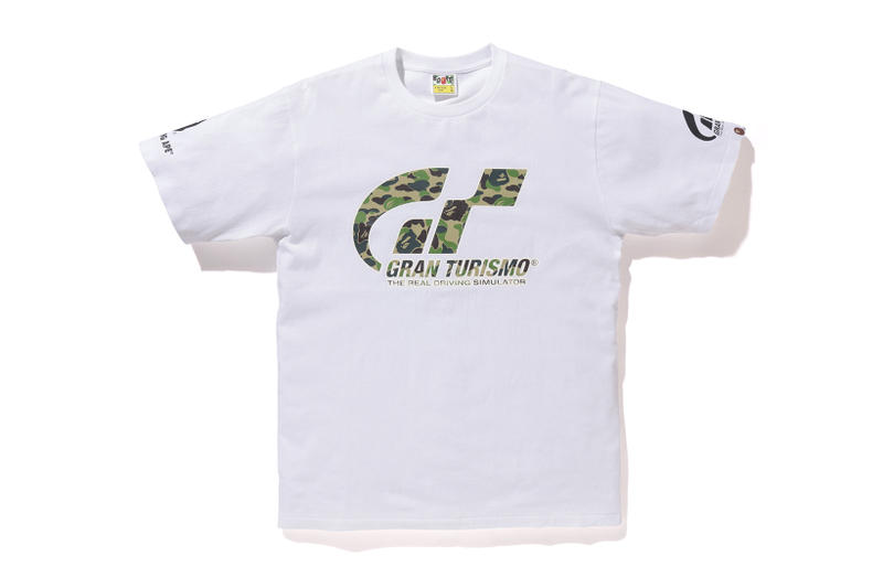 BAPE UNDEFEATED Gran Turismo Sport Collaboration A Bathing Ape UNDEFEATED Black White Grey T-shirt Hoodie Logo Branding California Sony Playstation