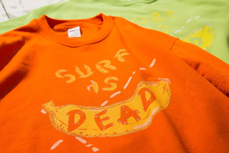BEAUTY & YOUTH x SURF IS DEAD Sweatshirts 2017 Fall Winter Collaboration Japan Exclusive