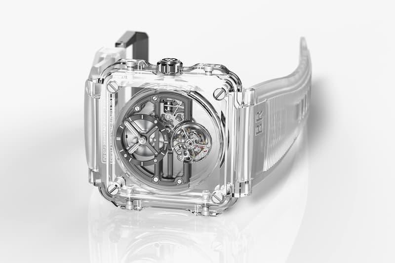 Bell Ross BR X1 Skeleton Tourbillon Sapphire Watch