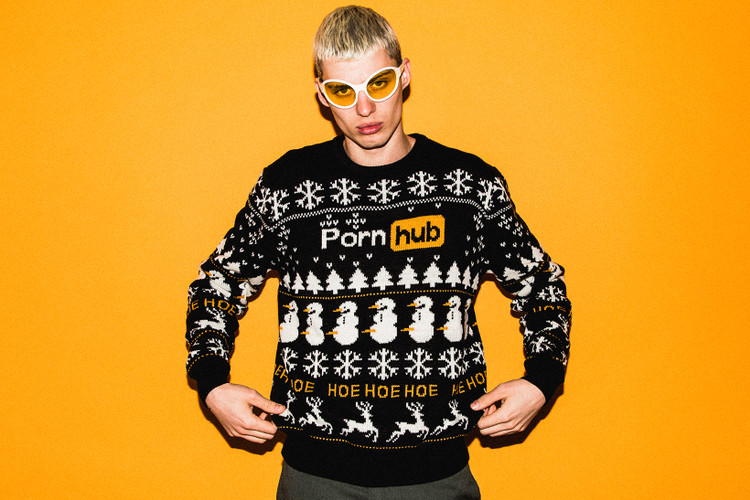 Urban Outfitters Ugly Christmas Sweater.Urban Outfitters Hypebeast