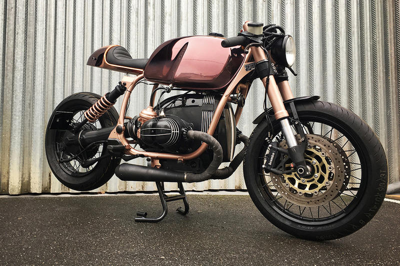 BMW R100R Cafe Racer Shiny Copper Custom