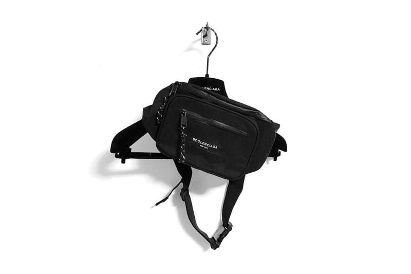 BOOLENCIAGA Bum Bag Black 2017 December 20 Release Date Info