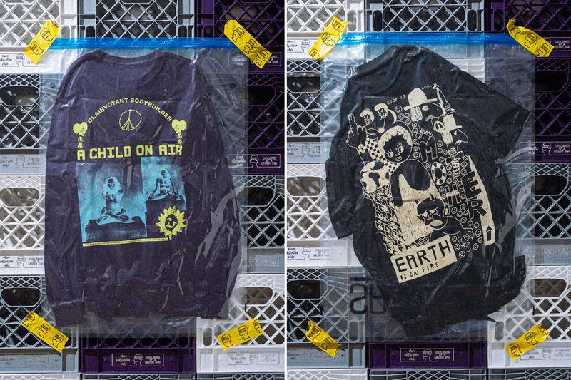 Brain Dead Earth On Fire Capsule Collection HBX Kyle Ng Streetwear Fashion Apparel Clothing