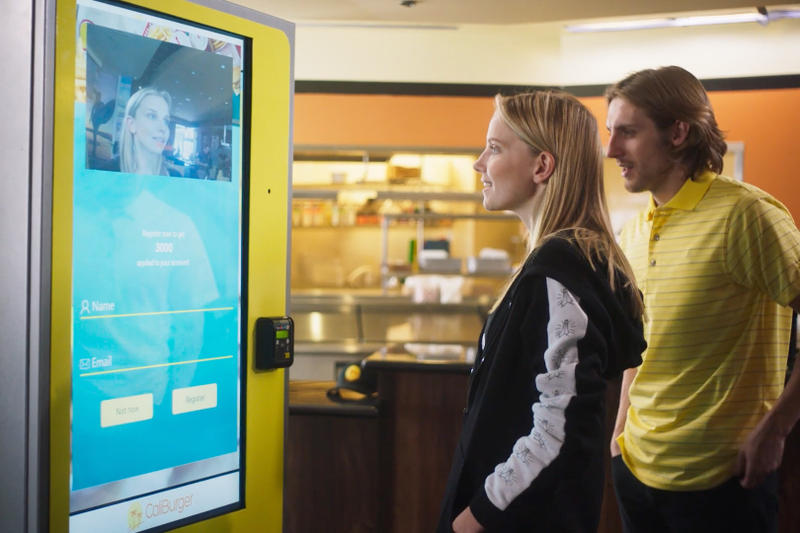 Burger Chain Uses Facial Recognition Orders Caliburger NEC Corporation of America Cali Group