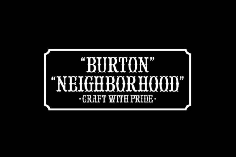 Burton Japan NEIGHBORHOOD Shinsuke Takizawa Fashion Apparel Streetwear Accessories 2017 Fall Winter Collection Capsule